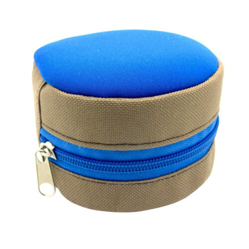 AM/_ LX/_ Fly Fishing Reel Case Carry Pocket Cover Storage Bag Pouch Holder Tools