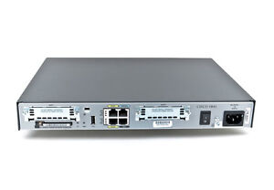 Cisco 1841 Router With Ccie 15 1 Ios 64mb Flash 256mb Dram Memory