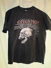 The Exploited  Punk Band Vintage Black T-shirt Size Medium (1D)