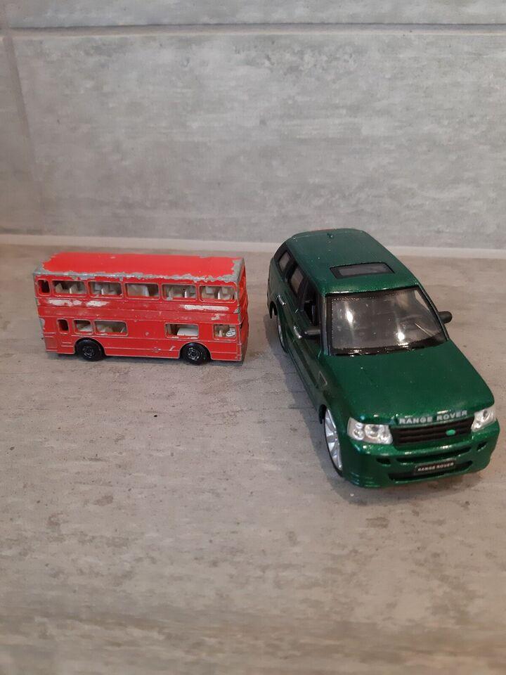 Ranger Rover, bus, diverse biler