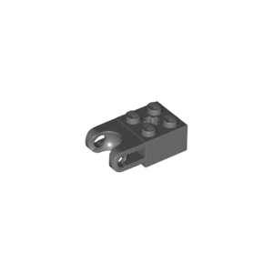 92013 Lego Brique Rotation Brick Technic 2x2-4619760 gris f//dark grey