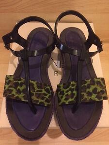 4462edbea2a8 Image is loading Kenzo-Paris-Tiger-Leopard-Espadrilles-platform-flatform- sandals-