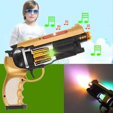 Electric Shock Gag Gun Toy Flashing Musical Prank Trick Party Children Toy Gift