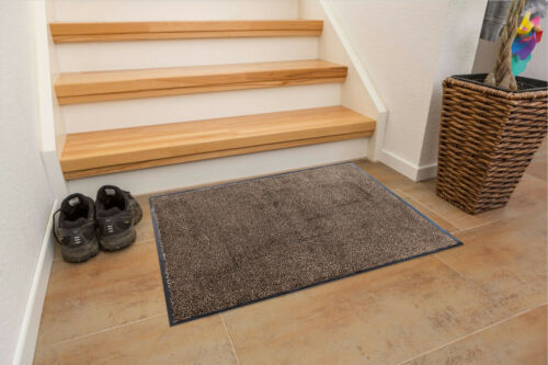 Saugstarke Schmutzfangmatte Microfaser Türmatte Fußmatte Sauberlauf Matte CLEANI