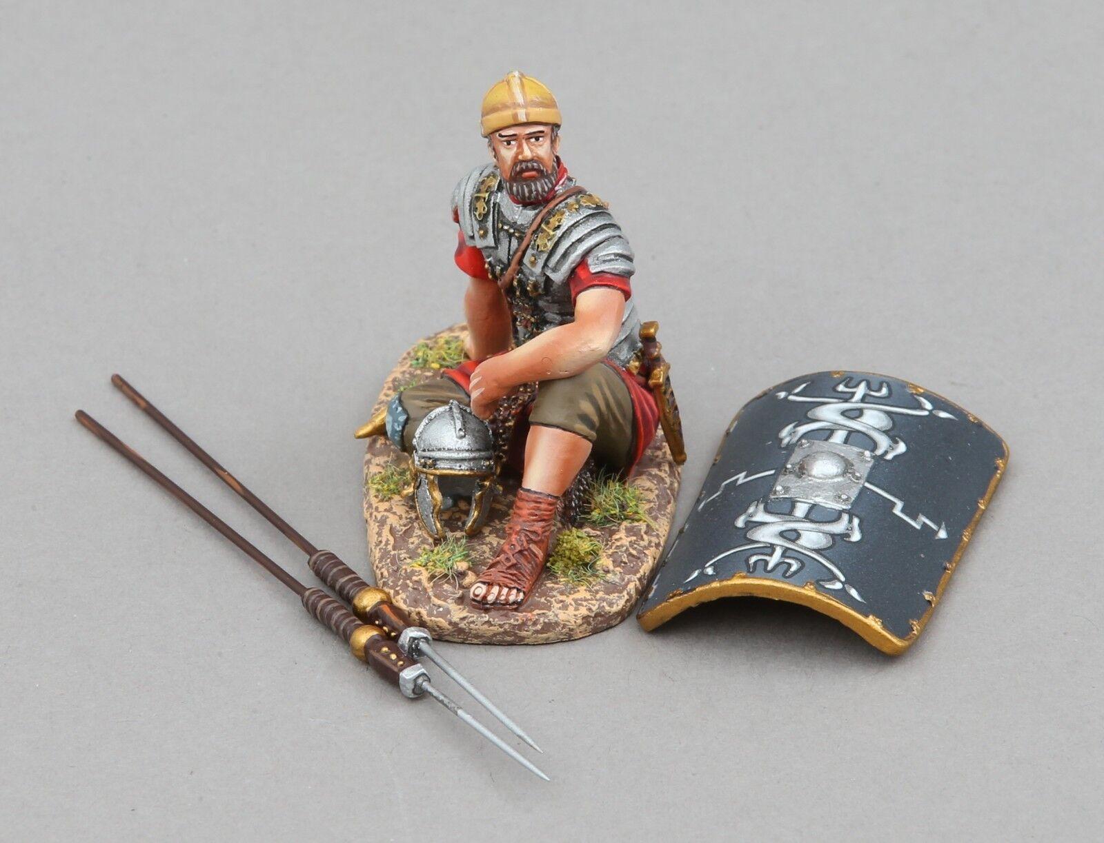 Thomas Gunn Roman Empire ROM096B 30th Legionär Ruhender Schwarz MIB