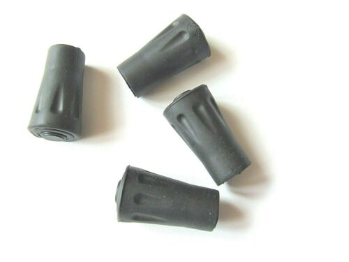 """HIKING TREKKING POLE RUBBER FERRULES ENDS TIP Spare Replacement 1//2/"""" 2x 40x12mm"""