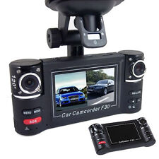 2.7'' HD Dual Lens Car Camera Vehicle DVR Dash Cam Video Recorder Night Vision L