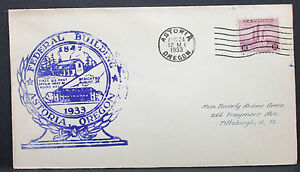 US-Illustrated-Adv-Cover-Astoria-Federal-Building-Stamp-3c-1933-USA-Brief-H-7573