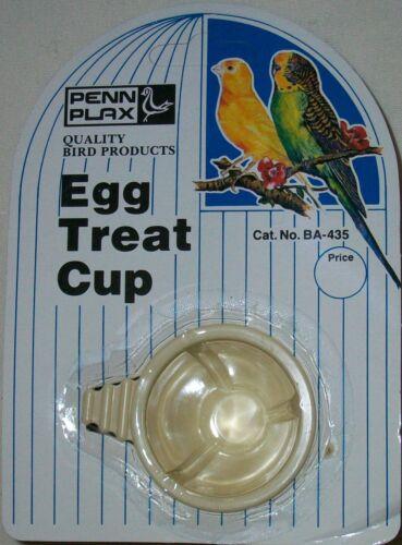 PENN PLAX BA-435 EGG TREAT CUP UNIPET 2oz 4oz SEED WATER CUP W//PERCH HOOK NEW