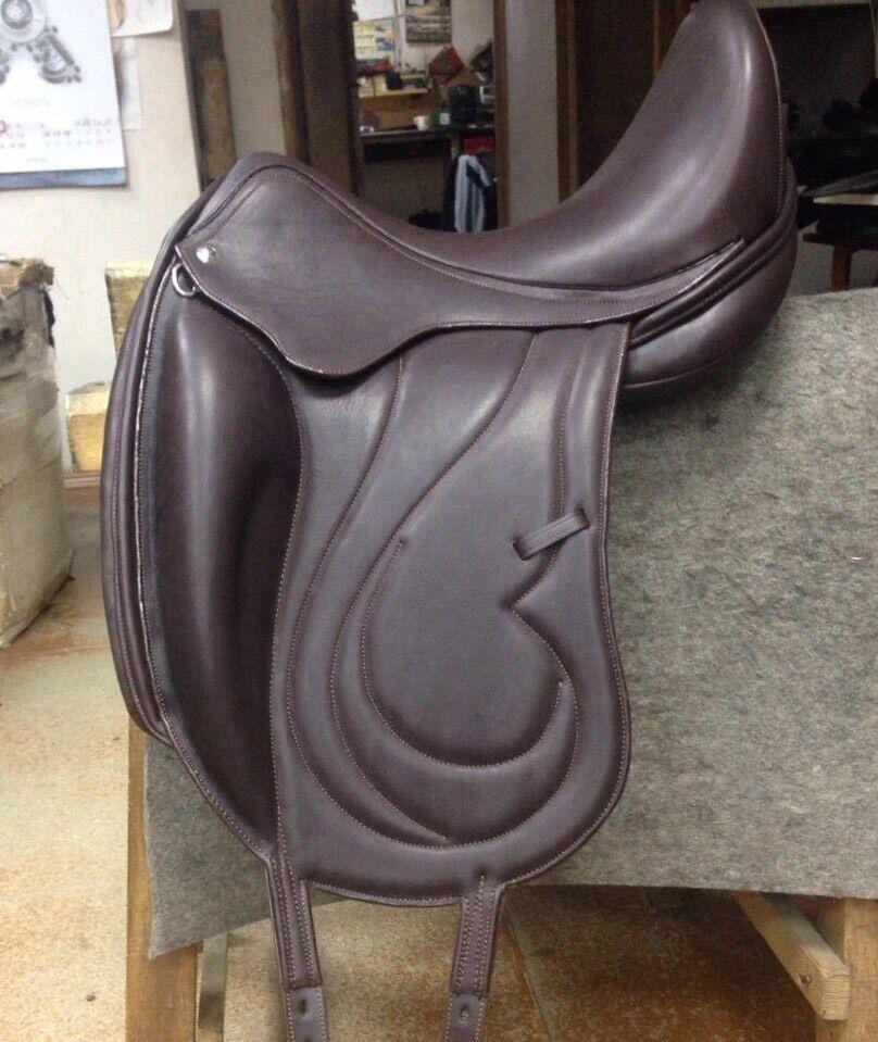Germida 17.5  English Monoflap dressage saddle NEW   factory direct