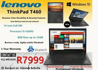 Lenovo t460 in South Africa | Gumtree Classifieds in South