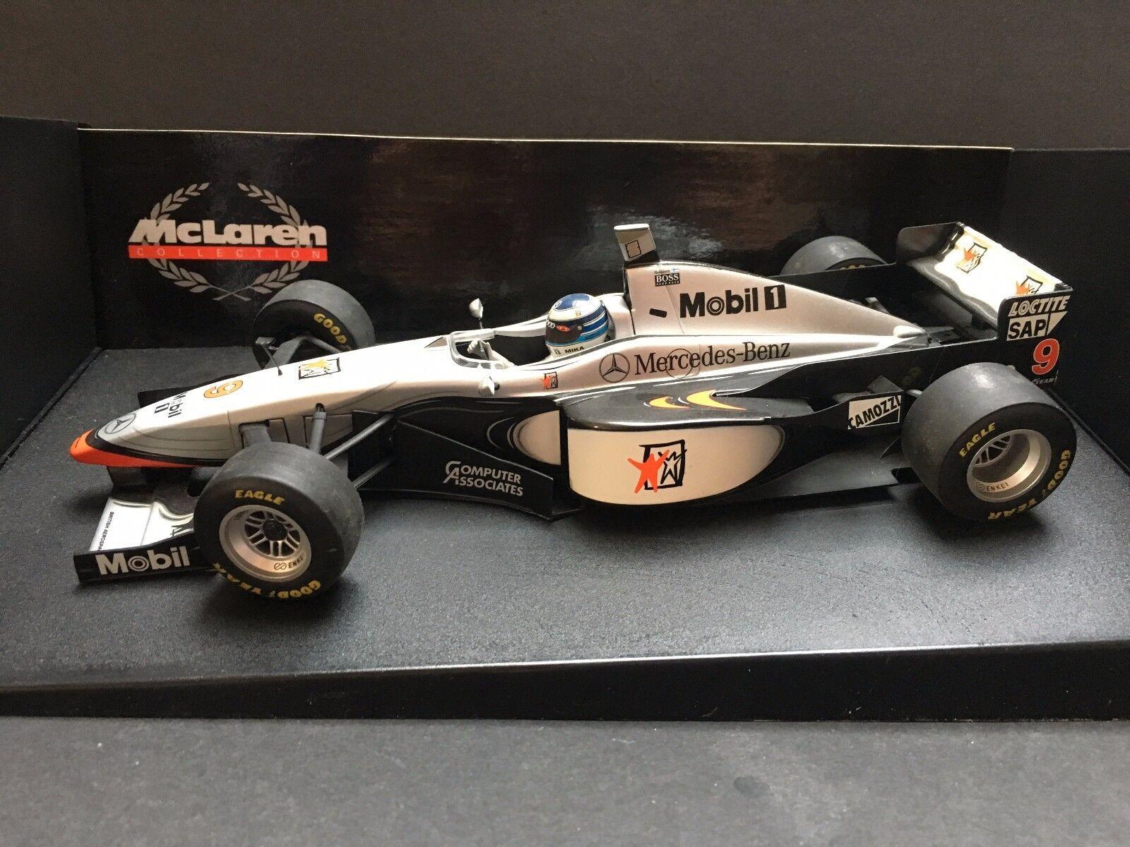 Minichamps - Mika Hakkinen - McLaren - Mp4 12 - 1997 -1 18 - Rare