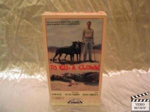To Kill A Clown VHS Alan Alda,...