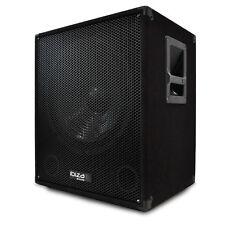 PA Subwoofer Aktiv Box Basslautsprecher DJ Lautsprecher AMP 800W 38cm Subwoofer