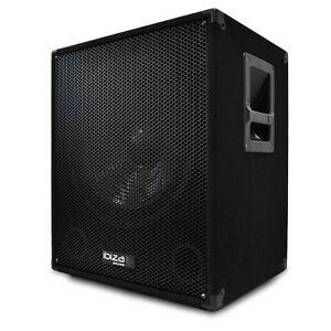 PA-Subwoofer-Aktiv-Box-Basslautsprecher-DJ-Lautsprecher-AMP-800W-38cm-Subwoofer