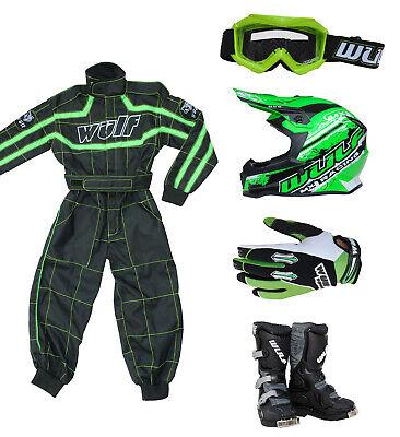 8cm Wulfsport Off Road Pro Motocross Helmet+attack Gloves Adult Motorcycle Motorbike Helmets Black,Helmet XS /& S Gloves 53-54cm