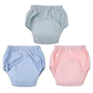 100/% Cotton Breathable Baby Training Pants Diaper Cloth Infant Toddler Underwear