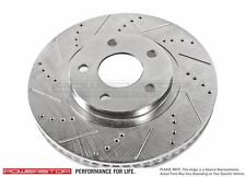Disc Brake Rotor-Cross-Drilled Slotted Front Power Stop AR8750XL and AR8750XLR