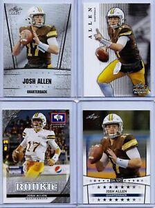 Leaf Josh Allen 2018 PRIZED Rookie Card Wyoming//Buffalo Bills!