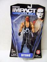 Rare Sting Tna Deluxe Impact Wrestling Wwe Wwf Series 6 Wrestling Figure Nrfp