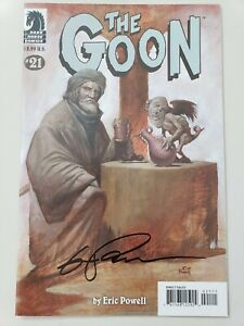 THE-GOON-21-2008-DARK-HORSE-COMICS-AUTOGRAPHED-by-ERIC-POWELL-with-COA-NM