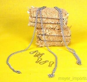 Cargo-To-Go-1-Yard-Nickle-Plated-Chain-w-hooks-101-0813