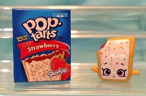 Strawberry Poptart Shopkin SHOPKINS Series 12 REAL LITTLES COLLECTORS CASE