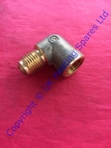 Valor Uniflame /& Uniflame Model 480 Gas Fire Inlet Elbow 0532519