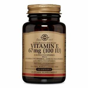 Vitamin E Mixed (d-Alpha Tocopherol and Mixed Tocophero