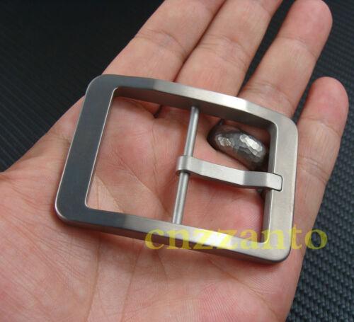40mm Inner width Titanium Ti Center Bar Belt Buckles buckle anti-allergy Z296