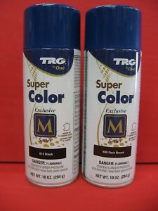 Details About Supercolor Leather Spray Paint Dye Leather Vinyl Coloring 10 Oz Trg M Series