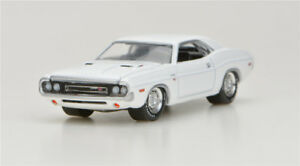 Greenlight-1-64-1970-Dodge-Challenger-R-T-Alloy-car-model-No-Packaging-green