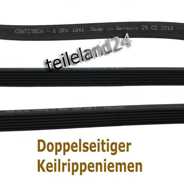 CONTI crantées VW Polo Sharan t5 1.6-2.0 1.9 TDI 06a260849c 6dpk1195