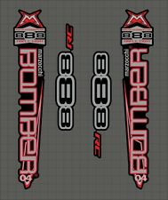 Marzocchi BOMBER RC 2004 Fork Decal Set