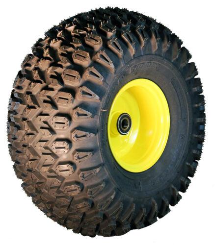 1 22.5x10-8 Carlisle HD Field Trax ATV Tire /& John Deere Gator Wheel Kit-J4