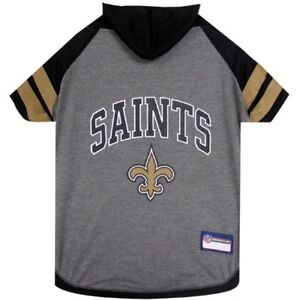 New-Orleans-Saints-NFL-Pets-First-Sporty-Dog-Pet-Hoodie-Tee-Shirt-Sizes-XS-L