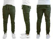 78a88d1ef5 item 3 Mens Cargo Jogger Pants Soft Cotton Twill With Stretch Comfort  Lounge Active NEW -Mens Cargo Jogger Pants Soft Cotton Twill With Stretch  Comfort ...