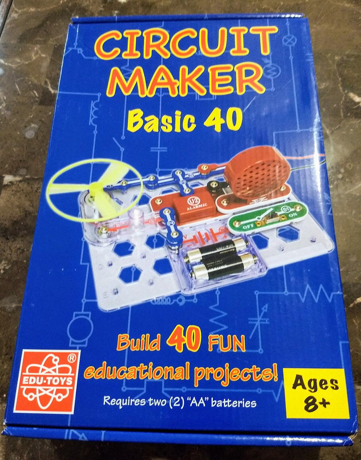 Elenco Circuit Maker 40 Basic Electronics Discovery Kit Ebay Snap Circuits Fm Radio Norton Secured Powered By Verisign