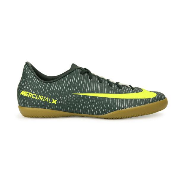8d53e641a Nike Kid s Jr MercurialX Vapor XI Cr7 IC Soccer Shoes Seaweed volt ...
