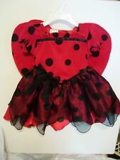 CHILD GIRL TODDLER 18 MTS LADY BUG DRESS UP TRICK OR TREAT HALLOWEEN COSTUME