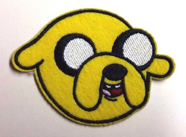 "Adventure Time JAKE  3.25"" Embroidered Patch- FREE S&H (AVPA-02)"