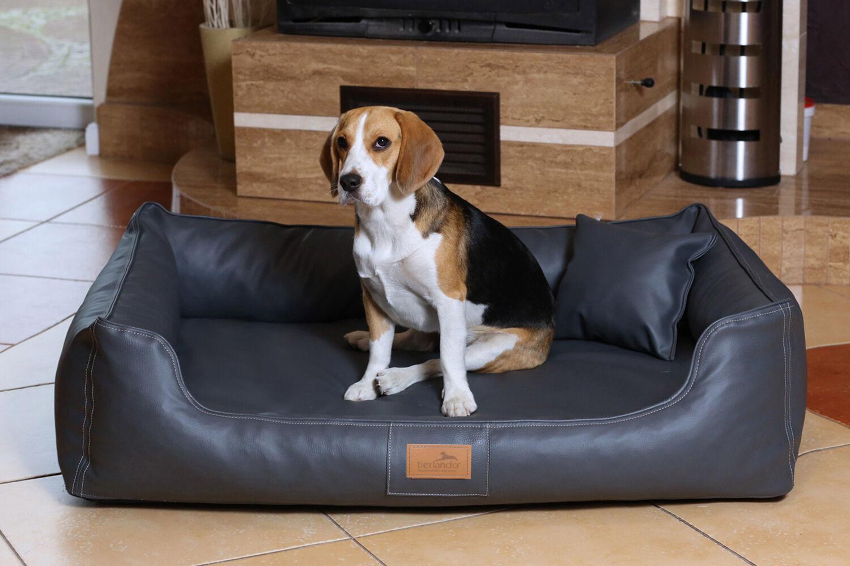 Tierlando ® ® ® Maddox Vital letto per cani ECOPELLE S-XXL 1340f9