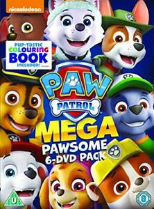 Paw-Patrol-Megapawesome-Pack-6-Title-Boxset-includes-Colouring-Book-DVD-20