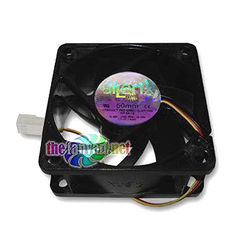 Lot of 2 SilenX® IXTREMA™ Pro IXP-34-16 60mm x 25mm Silent fan 16dBA 18 cfm