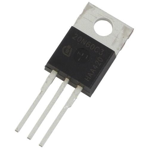 Spp20n60c3 Infineon MOSFET coolmos ™ 600v 20,7a 208w 0,19r 20n60c3 855772