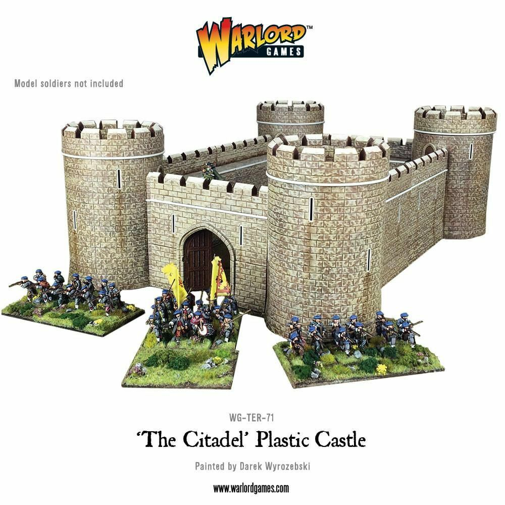 The Citadel Castle 28mm Warlord Games Terrain Terrain Building Castle Medieval