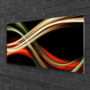Wall art Print on Plexiglas® Acrylic 100x50 Abstract Art