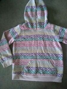 JUMPING-BEANS-GIRL-039-S-24-MONTH-HOODED-SWEAT-SHIRT-WITH-CUTE-HEARTS