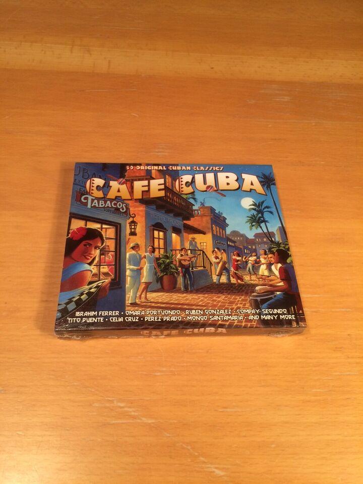 Ibrahim Ferrer, Omara Portuondo and many more: Café Cuba,