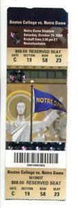 2009-Notre-Dame-v-Boston-College-Football-Full-Ticket-10-24-Notre-Dame-Stadium